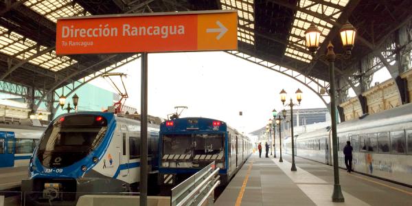 MetroTren Rancagua inicia operaciones durante todo el día