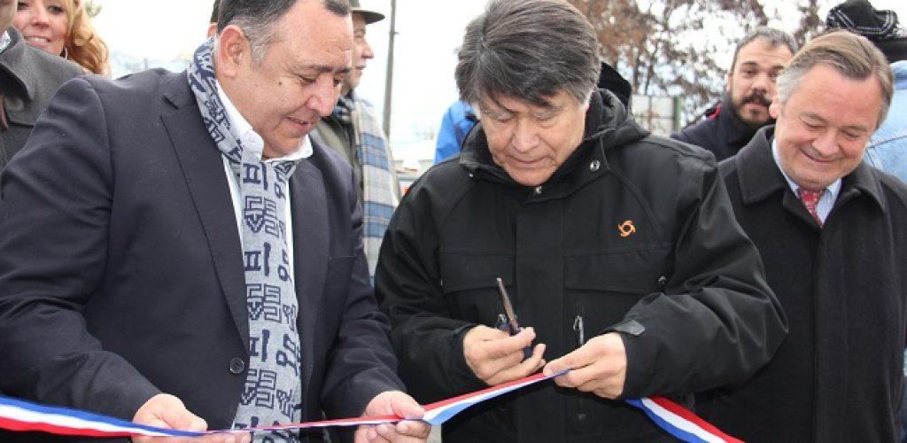 Presidente Directorio Tren Central Inaugura junto a Grupo EFE Cruces Provisorios