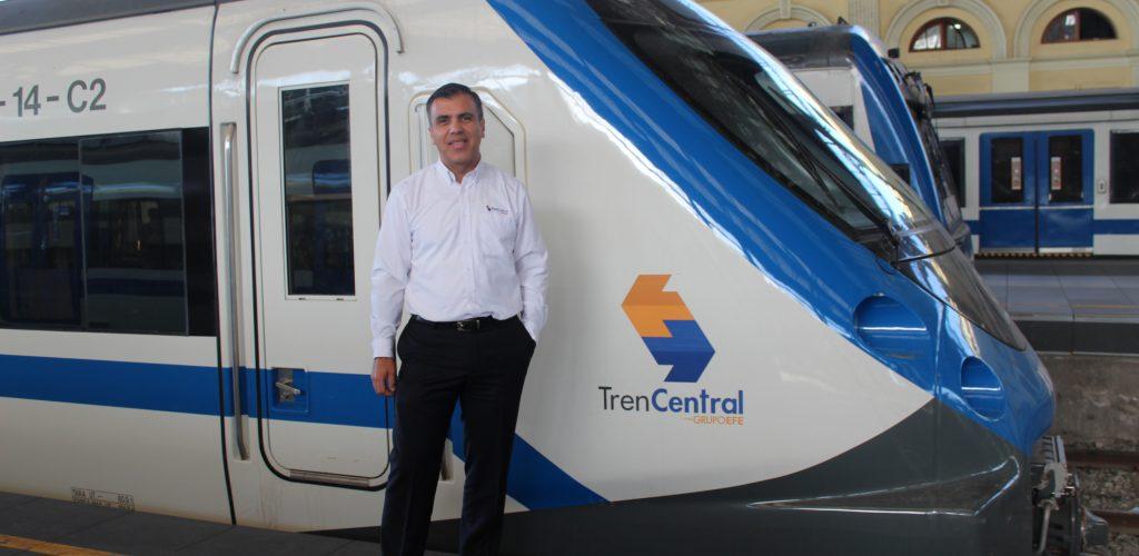 """Juan Pablo Palomino, gerente general de Tren Central: """"El tren está de vuelta: es una alternativa demostrada para el transporte público"""""""