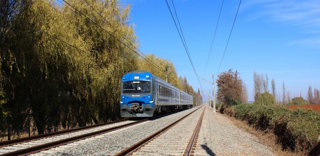 Tren Central estrena nueva modalidad para acceder a trenes del servicio Alameda – Chillán.