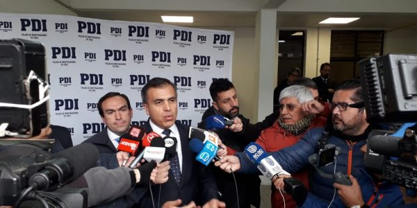 Coordinación entre Tren Central, Ministerio Público y Policia de Investigaciones permite segunda detención consecutiva de grupos organizados de robos de cables