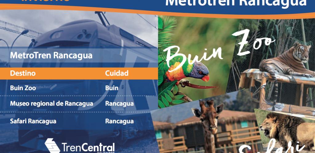 Tren Central lanza una nueva guía turística para disfrutar las vacaciones de invierno en familia