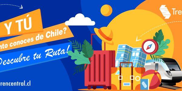 Tren Central lanza nueva versión de su guía turística gratuita