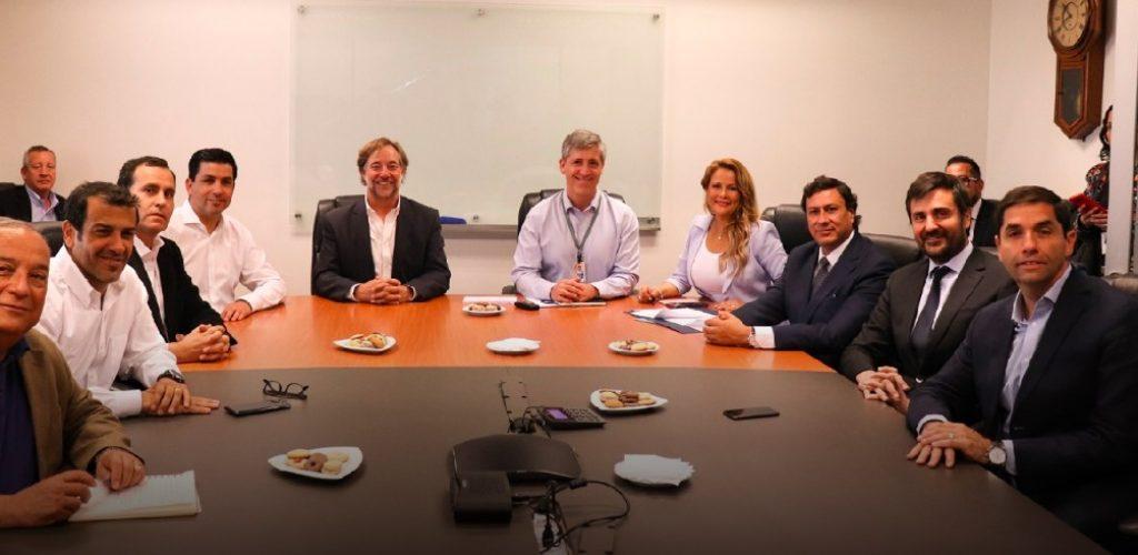 EFE se reúne con alcaldes por inicio construcción proyecto de Tren a Melipilla