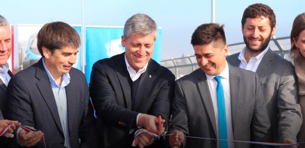 EFE inauguró nuevo paso vehicular desnivelado Bascuñán