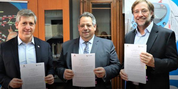 EFE y municipalidad de Chillán firmaron convenio para la automatización y ampliación del cruce Lantaño