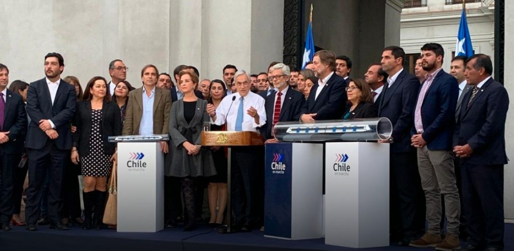 Presidente Piñera anuncia que en 2020 se inicia la construcción del tren que unirá Melipilla con Santiago en 46 minutos