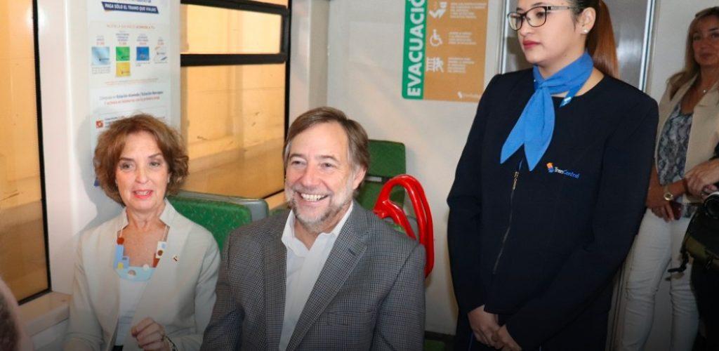 Metrotren Rancagua aumenta sus viajes diarios y entrega wifi gratuito en todas sus estaciones