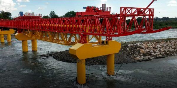 EFE inicia etapa final de construcción del Puente Toltén