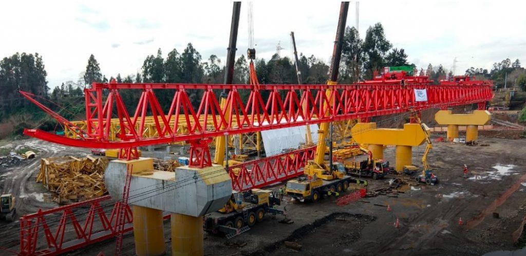 Reconstrucción de puente Toltén alcanza 75% de avance