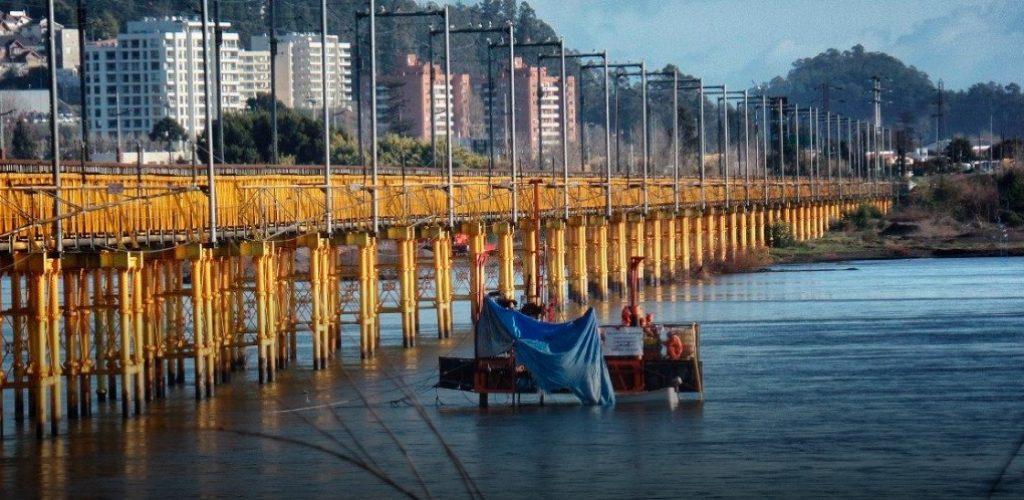 Importantes avances presentan estudios de ingeniería del nuevo puente ferroviario Biobío