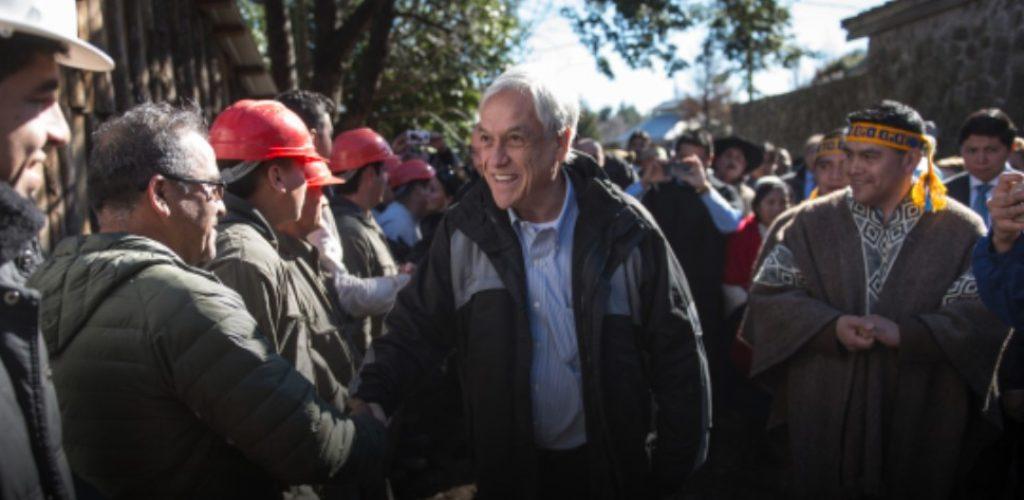 Presidente Piñera compromete extensión del Biotrén entre Coronel a Lota