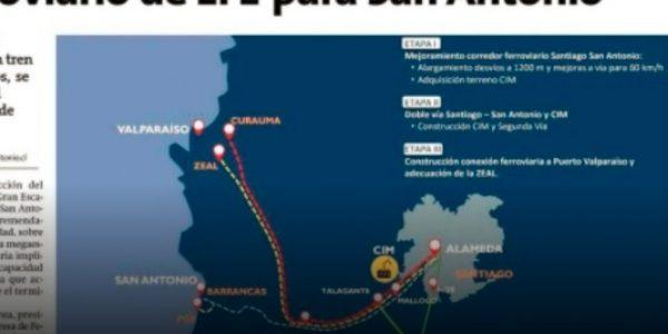 Germán Correa aclara cómo será el plan ferroviario de EFE para San Antonio