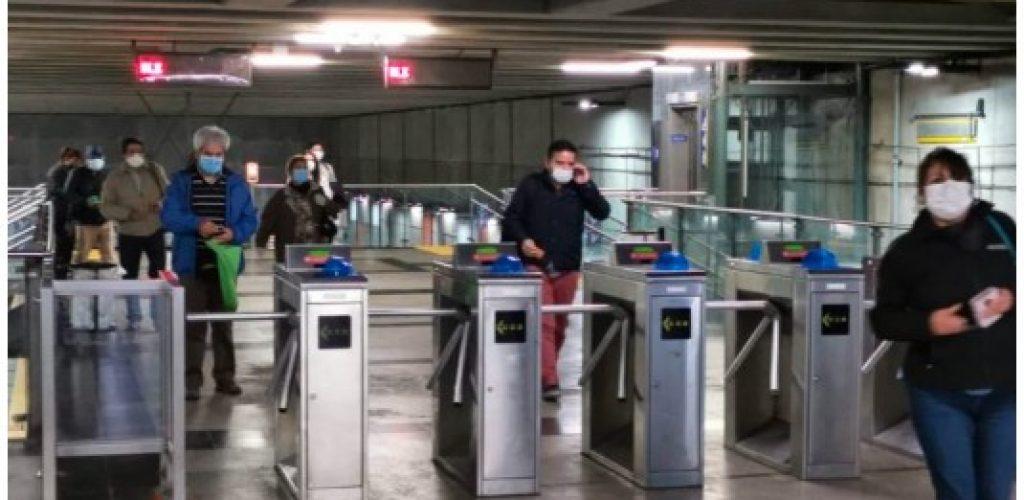 Recuerda que el uso de mascarilla en el transporte público es de carácter obligatorio