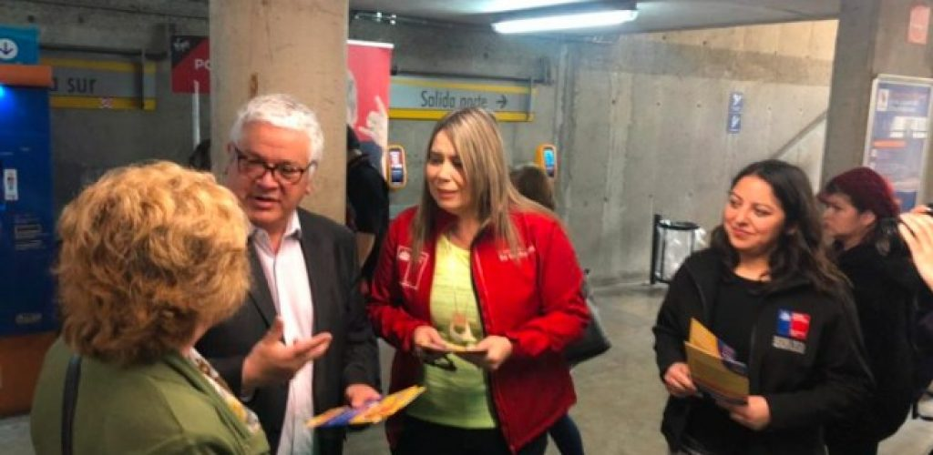 Autoridades refuerzan campaña contra comercio ambulante en Metro Valparaíso