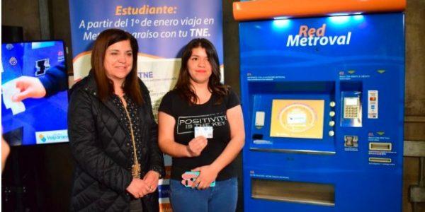Descuento del 50% en Metro Valparaíso para alumnos de colegios privados y preunversitarios