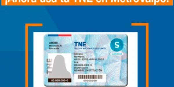 Exitoso primer mes de funcionamiento de la TNE en Metro Valparaíso