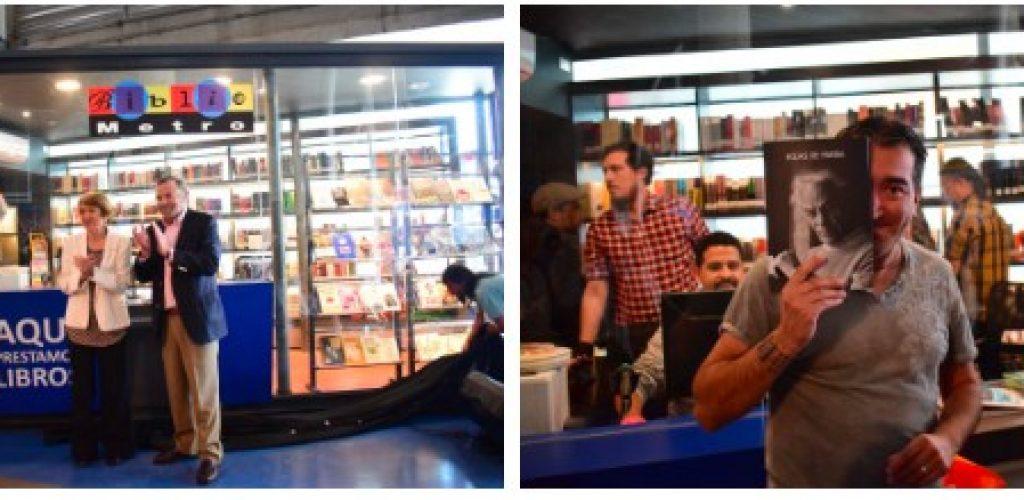 Bibliometro se instala en Metro Valparaíso con tres puntos de préstamo