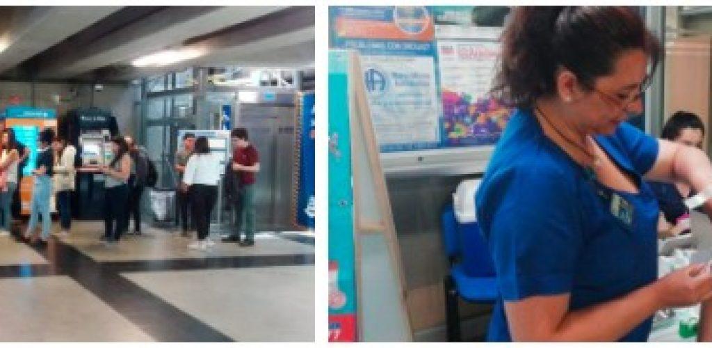Jóvenes pueden vacunarse gratuitamente en estación Viña del Mar de Metro Valparaíso