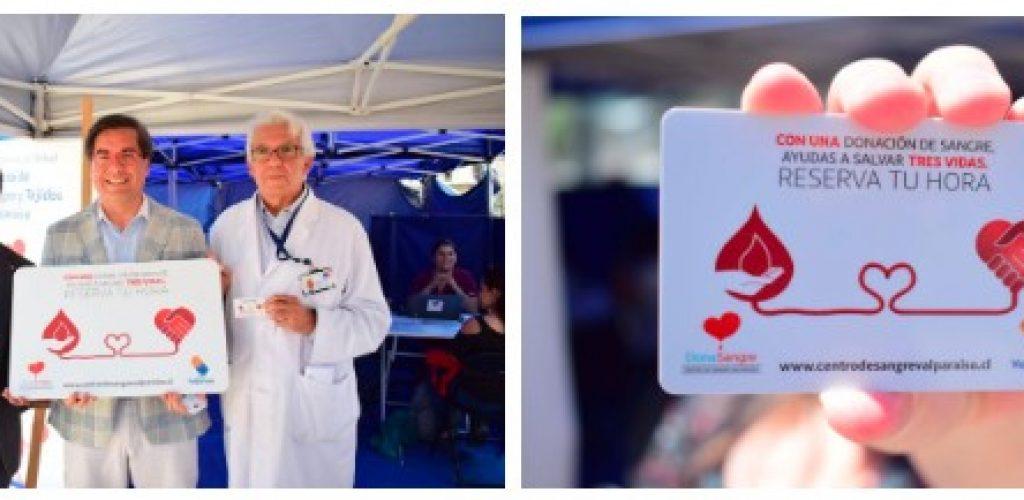 Nueva tarjeta de Metro invita a donar sangre