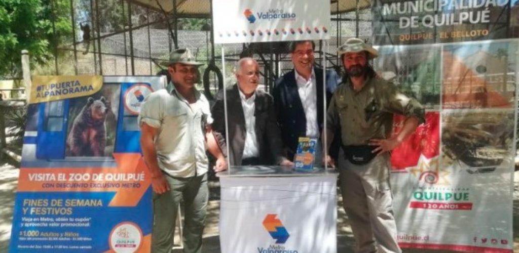 Pasajeros de Metro tendrán descuento exclusivo en el Parque Zoológico de Quilpué