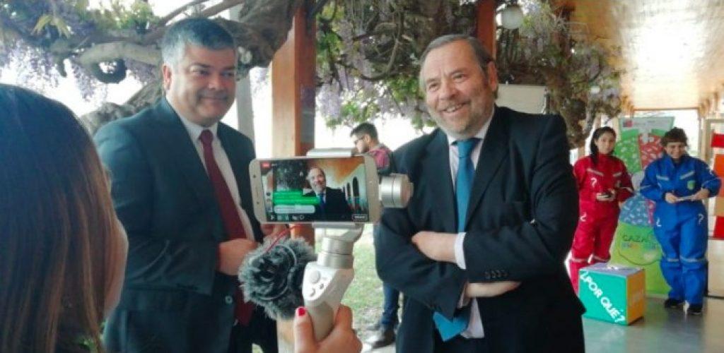 Con intervención urbana en Metro de Limache inauguran la Semana Nacional de la Ciencia y la Tecnología