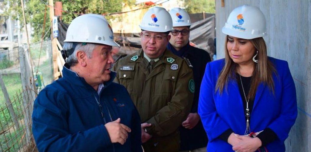 Nuevo centro de monitoreo de seguridad de Metro Valparaíso cuenta con 70% de avance