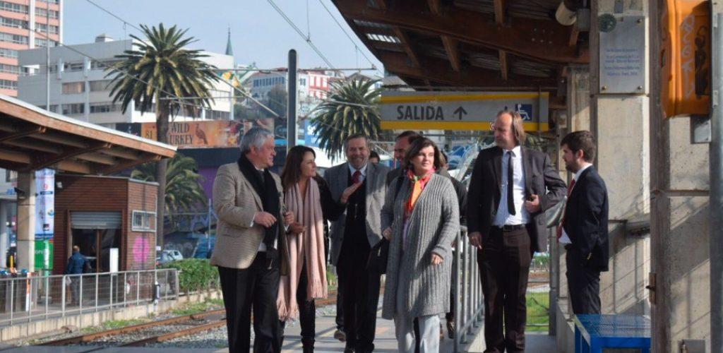 Subsecretario de transporte supervisa sistema de reconocimiento facial y novedades tecnológicas de pago implementadas en Metro Valparaíso