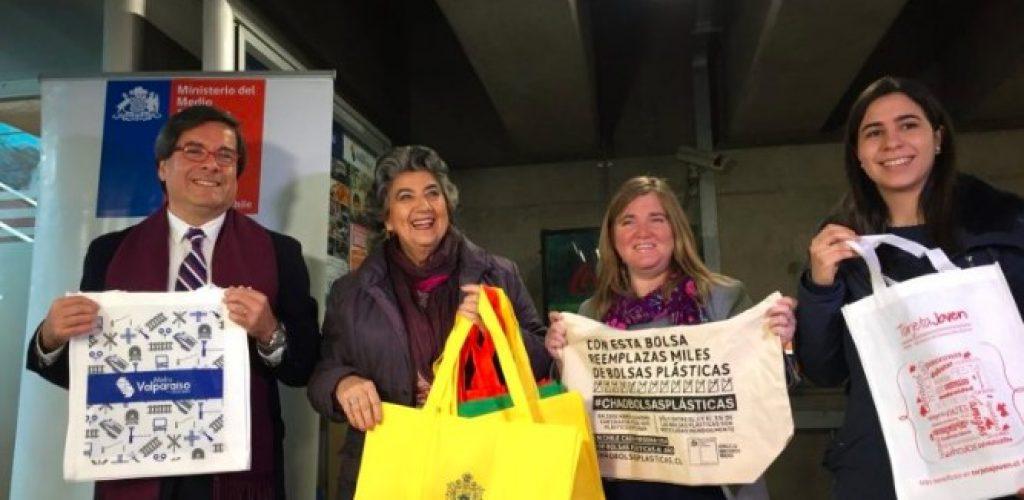 """Metro Valparaíso se suma a la campaña «CHAO BOLSAS PLÁSTICAS"""""""