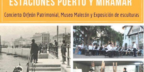 Usuarios de Metro Valparaíso podrán visitar los restos del antiguo malecón de la ciudad ubicado bajo la Estación Puerto