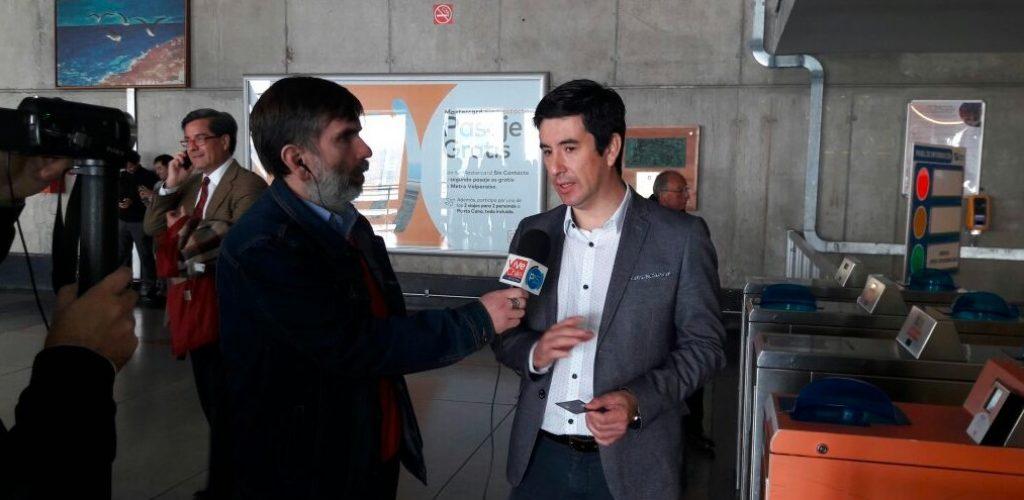 Metro Valparaíso implementa plan piloto con innovadora tecnología ABT