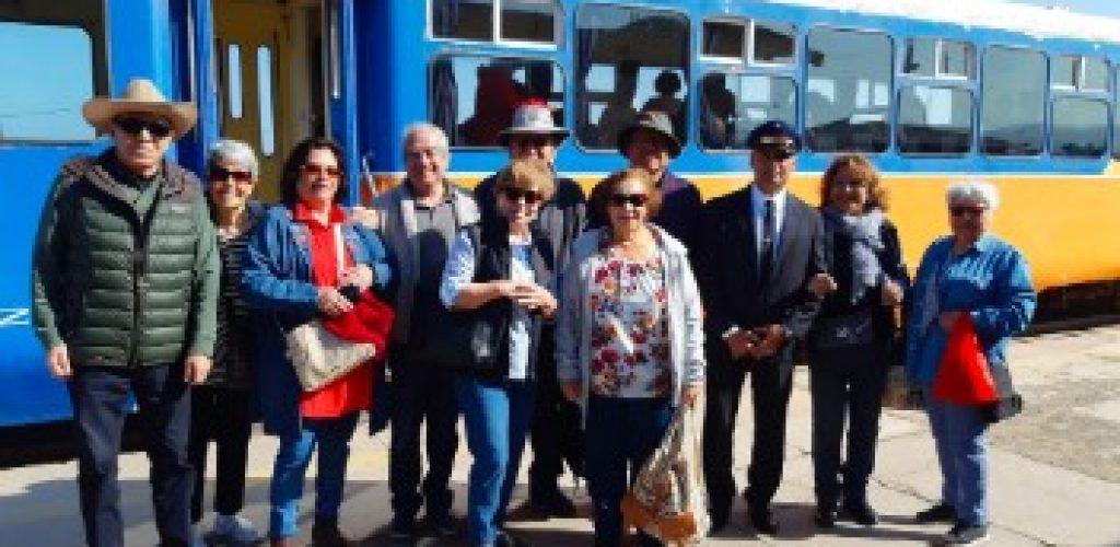 PASAJEROS DEL FERROCARRIL ARICA – LA PAZ VIVEN ENTRETENIDA JORNADA EN ALDEA ECO TRULY