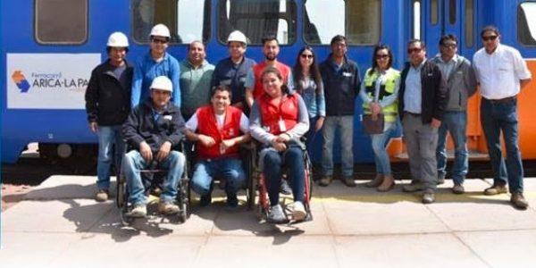 TELETÓN IMPARTE TALLER A COLABORADORES DE FERROCARRIL ARICA – LA PAZ