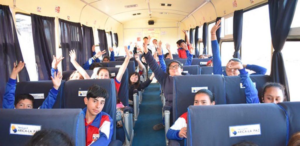 FCALP inicia viajes educativos con colegios