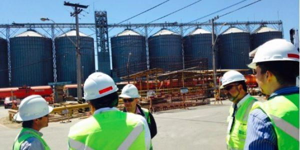 FCALP visitó instalaciones de Puerto San Antonio para conocer operatividad técnica del terminal