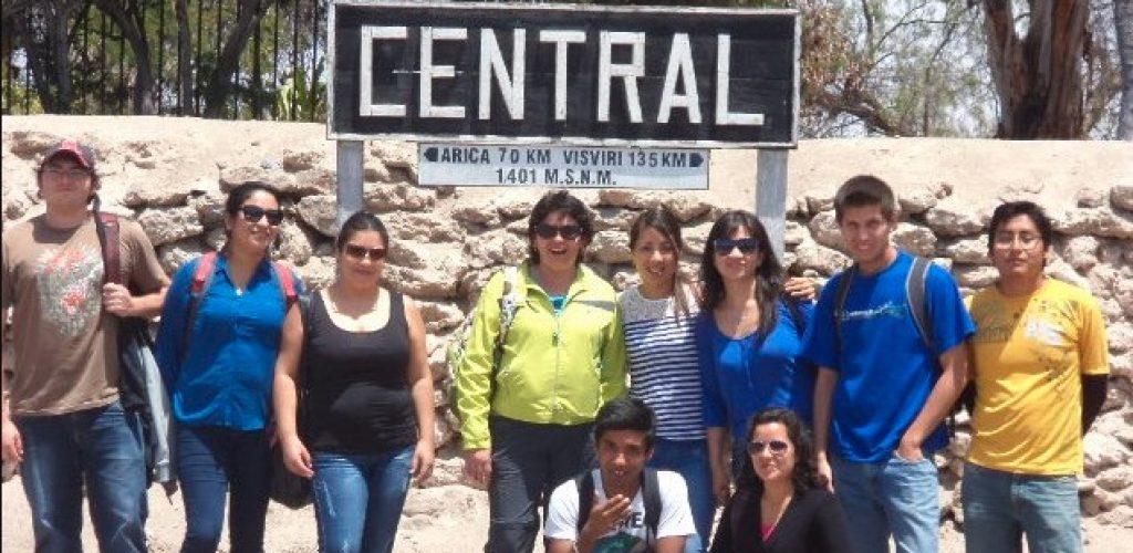 Estudiantes ariqueños recorrieron parte de la ruta del Ferrocarril de Arica a La Paz