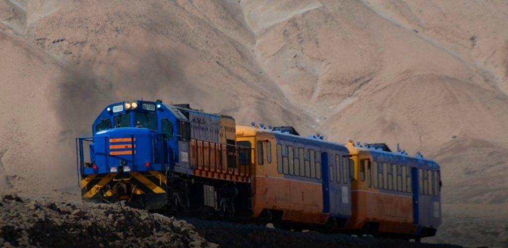 Ferrocarril Arica-La Paz realizó segundo viaje a Central