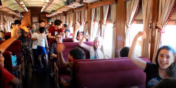 Con viaje a San Antonio en el Tren del Recuerdo EFE cerró programa de seguridad escolar 2017