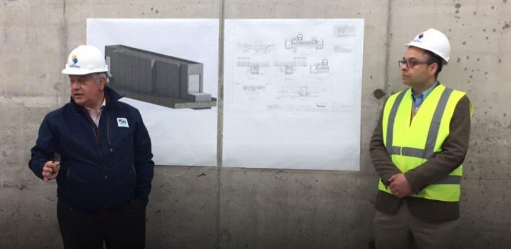 90% de avance en construcción de nuevas salas técnicas de Metro Valparaíso