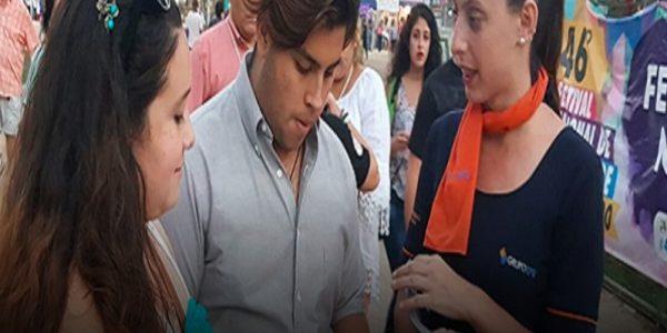 Campaña de seguridad EFE se toma el Festival Nacional del Folklore de San Bernardo