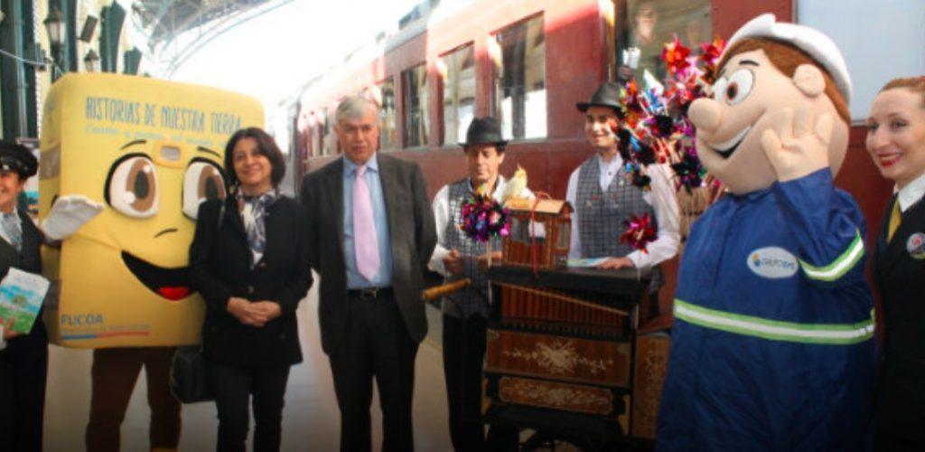 Ganadores del concurso literario historias de nuestra tierra revivieron la magia del Tren del Recuerdo