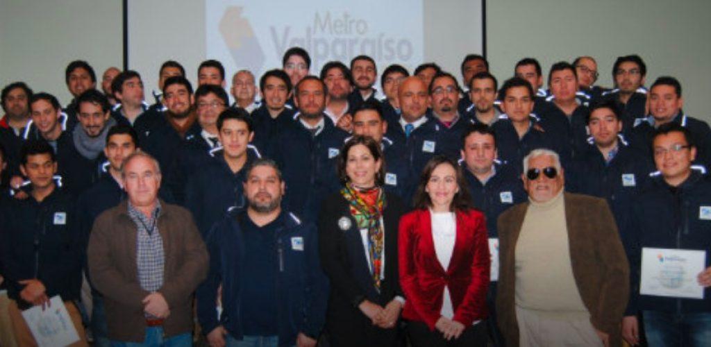 Metro Valparaíso incorporó a 36 nuevos maquinistas