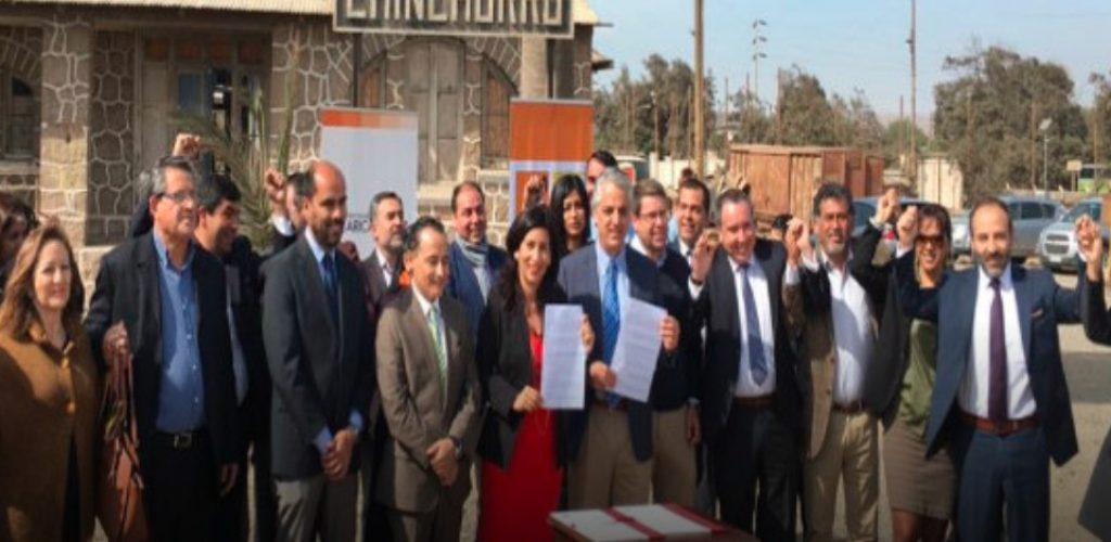 Grupo EFE y Gobierno Regional firman convenio para futuro centro cívico de Arica