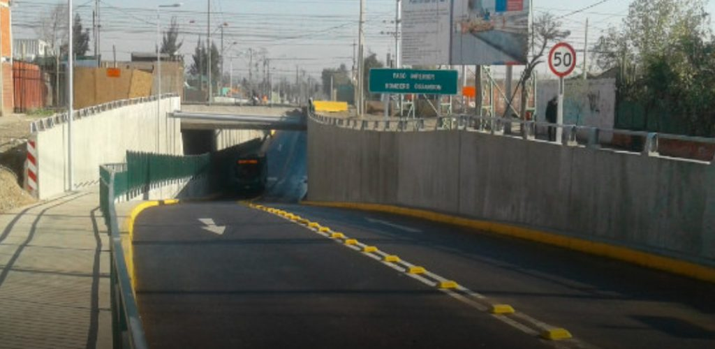 Grupo EFE sigue avanzando en la puesta en marcha del servicio Nos Xpress con apertura del paso Bombero Ossandón