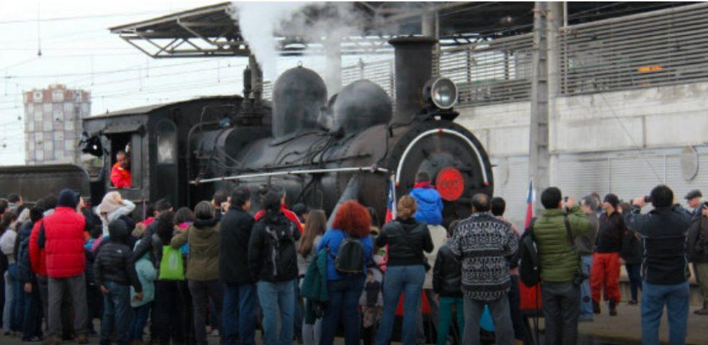 Con más de 20 piezas patrimoniales en exhibición Grupo EFE celebró el Día del Patrimonio en Estación Central