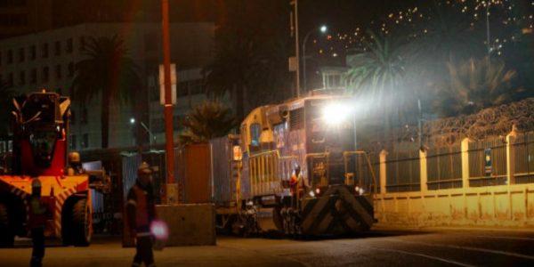 Tras dos años de ausencia vuelve el transporte ferroviario de contenedores al Puerto de Valparaíso