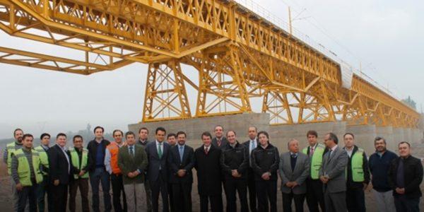 Grupo EFE finaliza trabajos de rehabilitación del Puente Maipo
