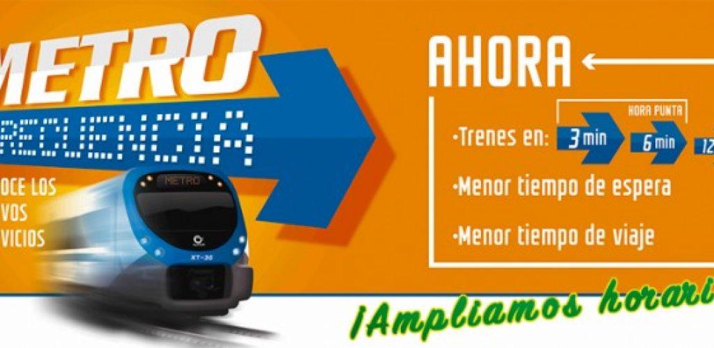 Metro Valparaíso implementa nuevas mejoras en frecuencia ampliando la franja con intervalos de 3 minutos en hora punta am