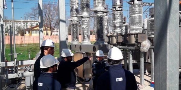 En fase de pruebas se encuentran subestaciones eléctricas de Metro Valparaíso en Villa Alemana