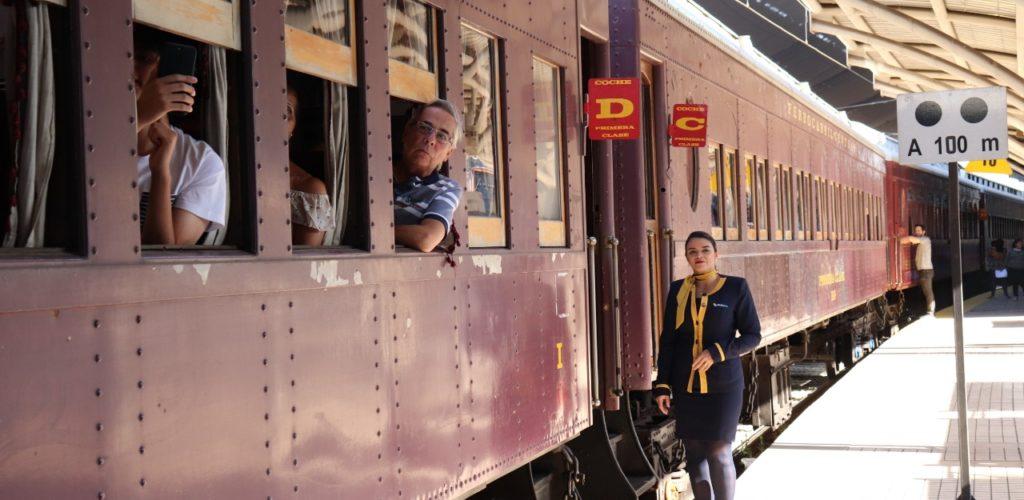 Inició temporada Trenes Turísticos 2020